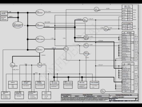 Ремонтируем с использованием Блок схемы напряжений ноутбук Acer LA-5991P