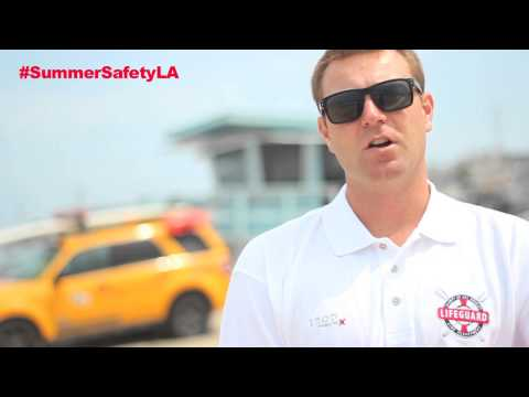 Summer Safety with the LACo Fire Department and Lifeguard Division
