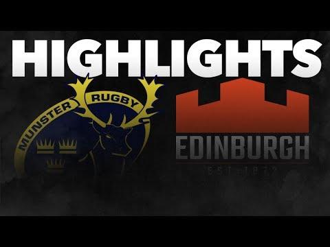 Guinness PRO14 Round 7: Munster Rugby v Edinburgh Rugby Highlights