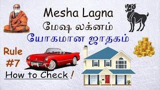 Mesha Lagna - Fortune Horoscope - Astrology Rule #7