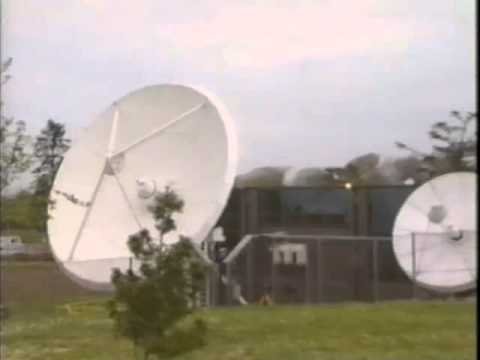 IBA's Satellite Uplink For BSB's D2-MAC Service At Chilworth (1990)