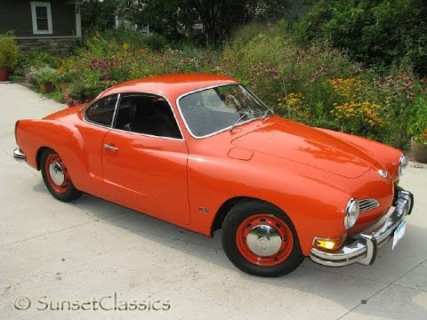 nice orange 1972 volkswagen karmann ghia for sale youtube. Black Bedroom Furniture Sets. Home Design Ideas