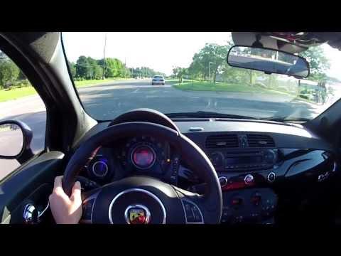 2013 Fiat 500C Abarth Cabrio – WR TV POV Test Drive