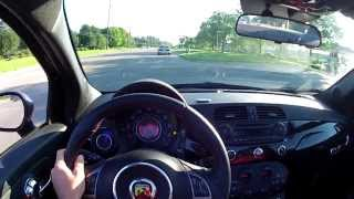 2013 Fiat 500C Abarth Cabrio - WR TV POV Test Drive