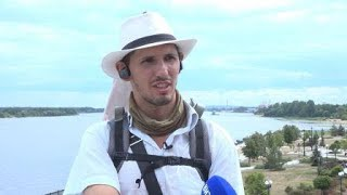 Путешественник, решивший побывать в 500 городах, добрался до Ярославля