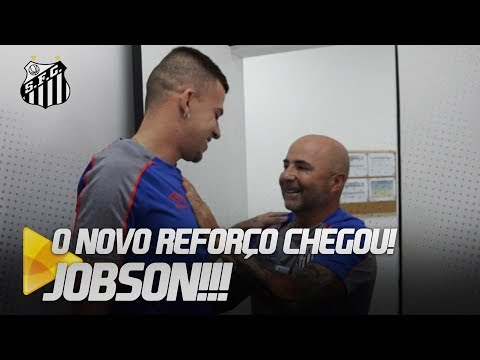 ENTREVISTA COM JOBSON: O NOVO REFORÇO DO PEIXE!