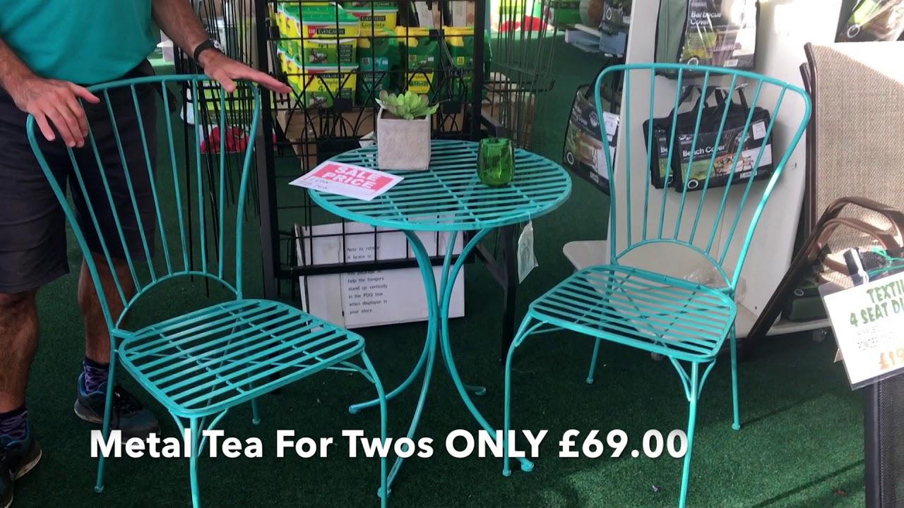 Bank holiday sale on garden furniture at laylocks garden centre