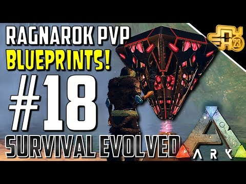 ARK OFFICIAL PVP RAGNAROK - S2 EP18- GETTING AWESOME BLUEPRINTS!!