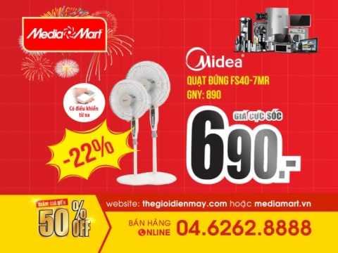 TVC - HÀNG HÈ GIÁ SỐC T5(60s). mediamart.vn