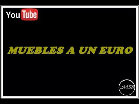 Decoración de Interiores: Decorar con Muebles a 1€ - YouTube