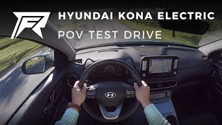 2018 Hyundai Kona Electric - POV Test Drive (no talking, pure driving)