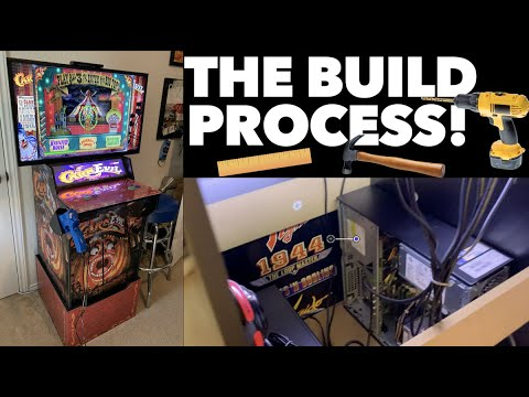 The CarnEvil Cabinet Build Process! from Killer Arcade Games