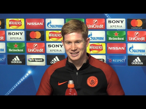 Kevin De Bruyne Full Pre-Match Press Conference - Manchester City v Monaco - Champions League