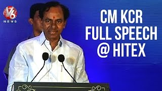 CM KCR full speech at Swachh Hyderabad Orientation meet - Hitex (06-05-2015)