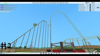 Constructing A Seisuratic Roller Coaster... Roblox: Roller Coaster Tycoon 2 Ep 2