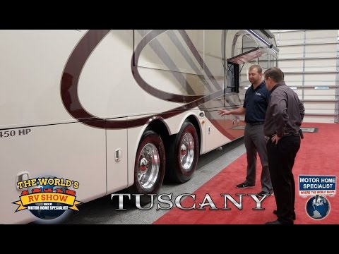 2016 Thor Motor Coach Tuscany Luxury RV Review at Motor Home Specialist 44MT, 45AT, 42HQ & More