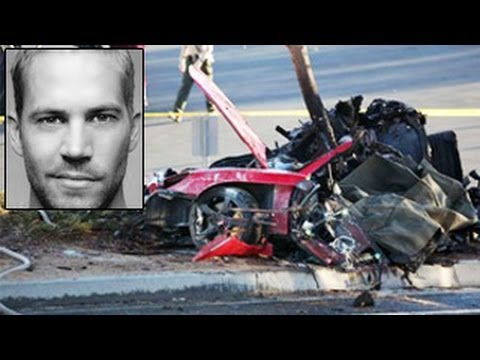 car crash paul walker video images. Black Bedroom Furniture Sets. Home Design Ideas