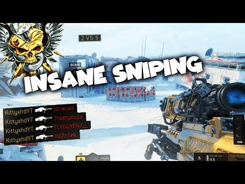 this is HOW TO SNIPE on Black Ops 4...