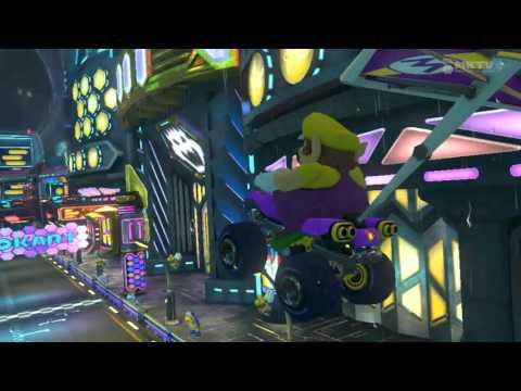 Wii U - Mario Kart 8 - (3DS) Neo Bowser City