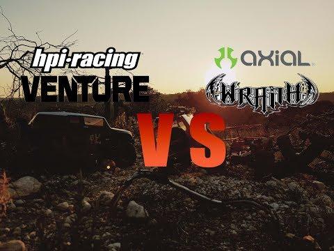 HPI Venture VS Axial Wraith Crawler RC by RockCat RC Team