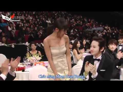 [Vietsub] KBS Award 2010-Moon Geun Young cut