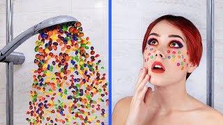 Download 12 смешных пранков и лайфхаков со сладостями Mp3 and Videos