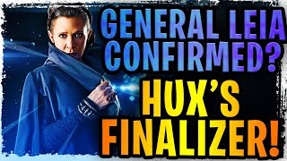 General Leia Organa Teased? Hux's Finalizer and Raddus Ship Confirmed! 7* Galactic Legends Confirmed