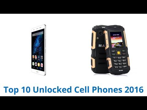 10 Best Unlocked Cell Phones 2016