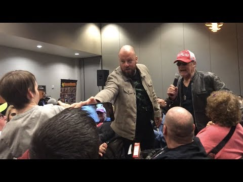 Michael Rooker & Chris Sullivan at HorrorHound Weekend Cincinnati 2018