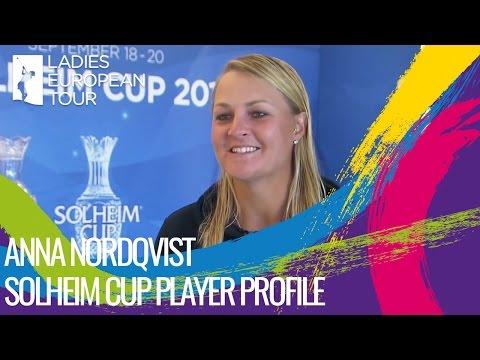Solheim Cup Player Profile:  Anna Nordqvist