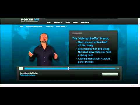 How To Play Poker Against Maniac With Daniel Negreanu