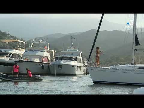 Environnement : sensibilisation aux éco-gestes pour les plaisanciers du port de Saint-Florent - - France 3 Corse ViaStella