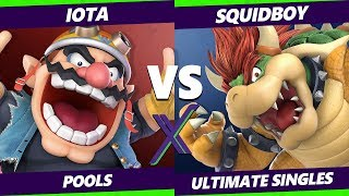 Smash Ultimate Tournament - AF | Iota (Wario) Vs DWU | Squidboy (Bowser) - S@X 281 SSBU Pool 3 - WQF