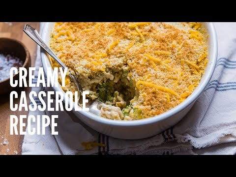 Cheesy Vegan Chicken Broccoli & Rice Casserole