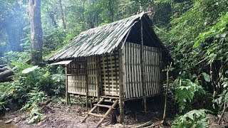 Survival in the tropical rainforest, ep 3, trap animals and complete the house