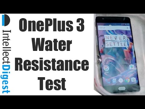 Is OnePlus 3 Waterproof? Find Out! | Intellect Digest