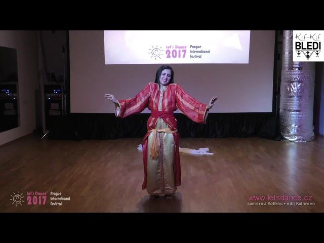 Raïssa Leï : danse chaabi marocain traditionnel @Prague
