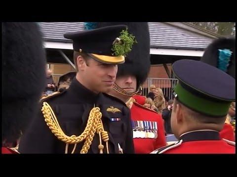 Prince William, Kate Middleton Celebrate St. Patrick's Day