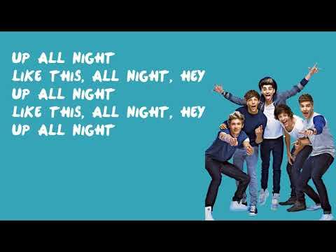 Up All Night - One Direction (Lyrics)