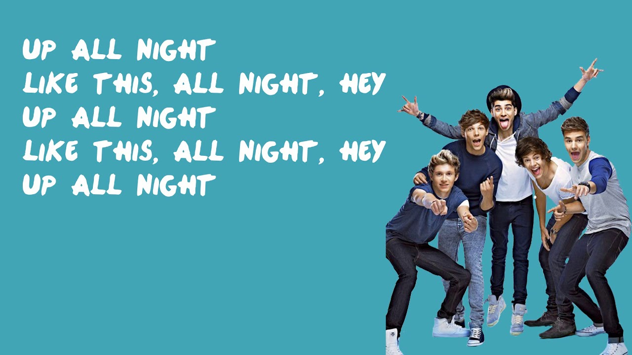 Download Up All Night - One Direction (Lyrics)