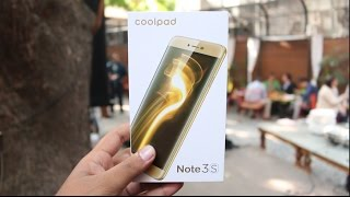 Coolpad Note 3S Unboxing, hands on, Camera, Features, Price