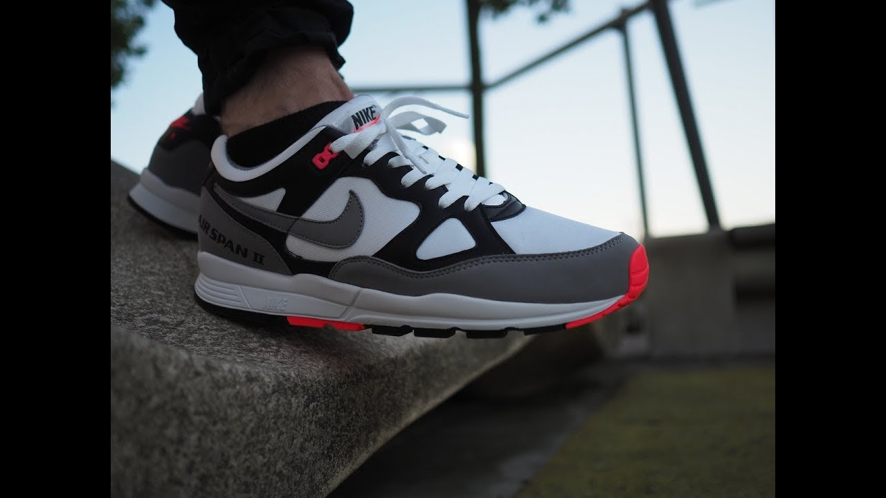 Nike Air Span II Solar Red Review we got HEAT Hottest Colorway English
