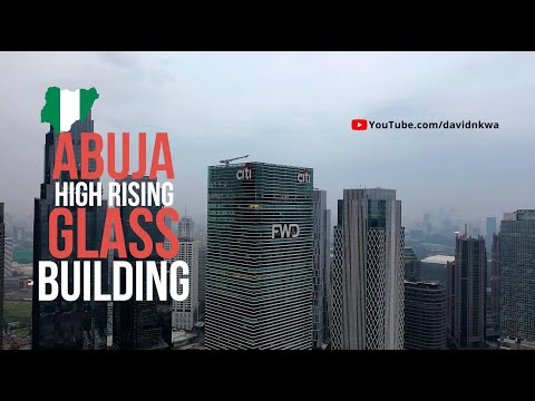 Abuja high rising office and apartment glass building