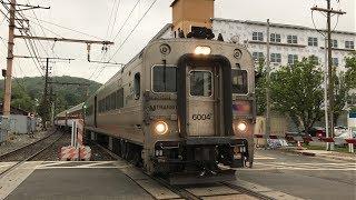 NJ Transit Morristown Line @ Dover w/ Comet V Cab Car 6004 (5/29/19)