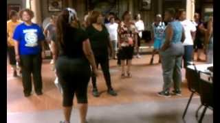 SOSU Cha Line Dance Instructional: New Orleans, LA