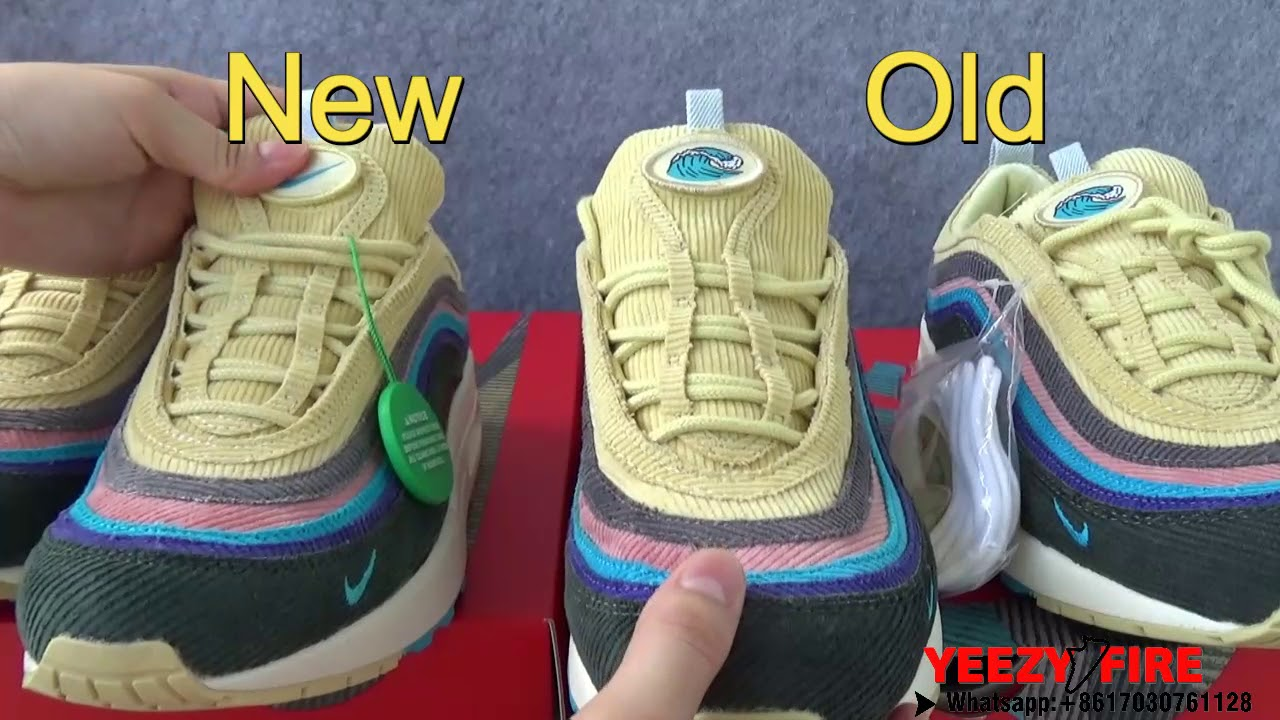 Real VS Fake: Nike Air Max 197 VF SW Hybrid Sean Wotherspoon