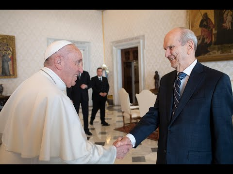 The Prophet and the Pope: President Russell M. Nelson's historic meeting with Pope Francis