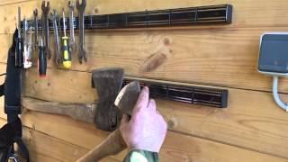 Магнитные держатели для ножей(Магнитный держатель для кухонных ножей или инструмента. Держатели для ножей легко крепятся на вертикально..., 2015-05-08T11:41:08.000Z)