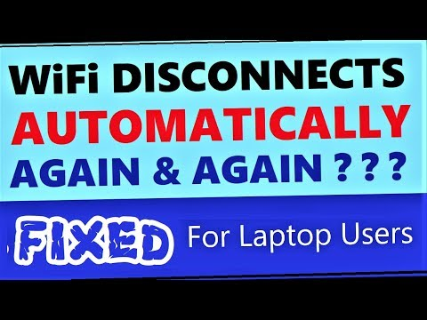 WiFi Disconnects Automatically Windows 10 / 8 / 7 Laptop | How To Fix WiFi Automatically Turning Off