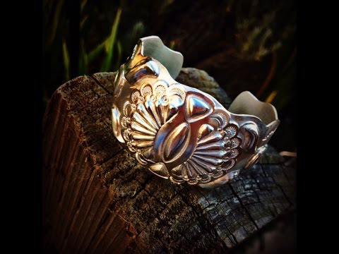 Let make a Silver boho cuff with Tucker tools!